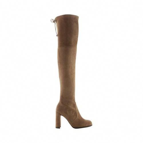 6705cc8f06f Women s Stuart Weitzman Hiline Over-the-Knee Boot in Suede - Nutmeg Suede  Boots  StuartWeitzman