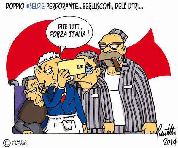 ITALIAN COMICS - Marcello Dell'Utri: è tornato tra noi il padre nobile di Forza Italia…