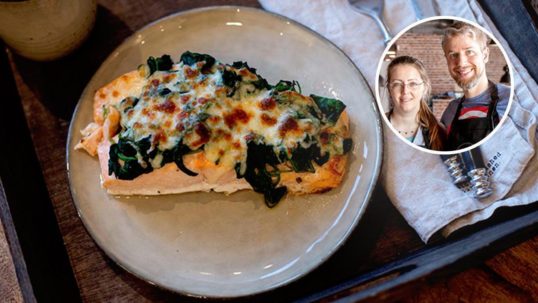 Überbackener Lachs: Das Highlight ist die Käse-Kruste