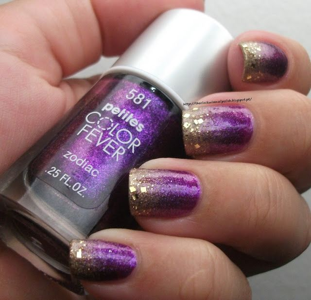 Effie Trinket (The Hunger Games) inspired manicure