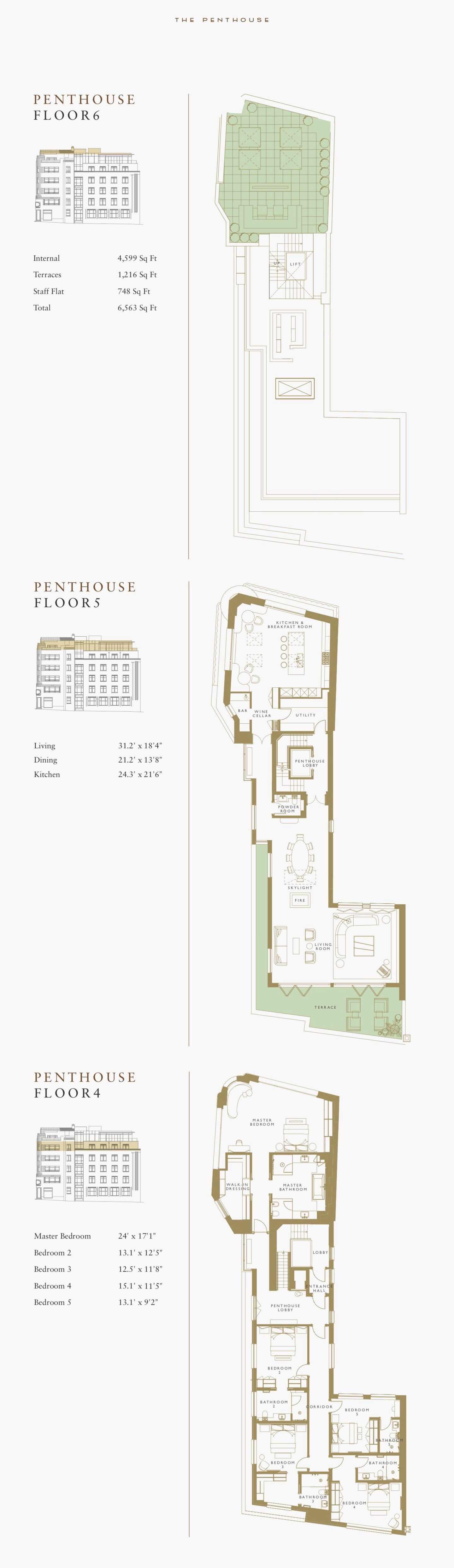 Greybrook House, London, W1K Penthouse