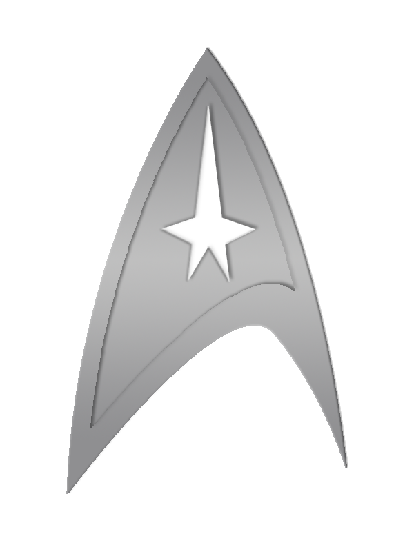 Starfleet Insignia Star Trek Insignia Star Trek Pin Star Trek