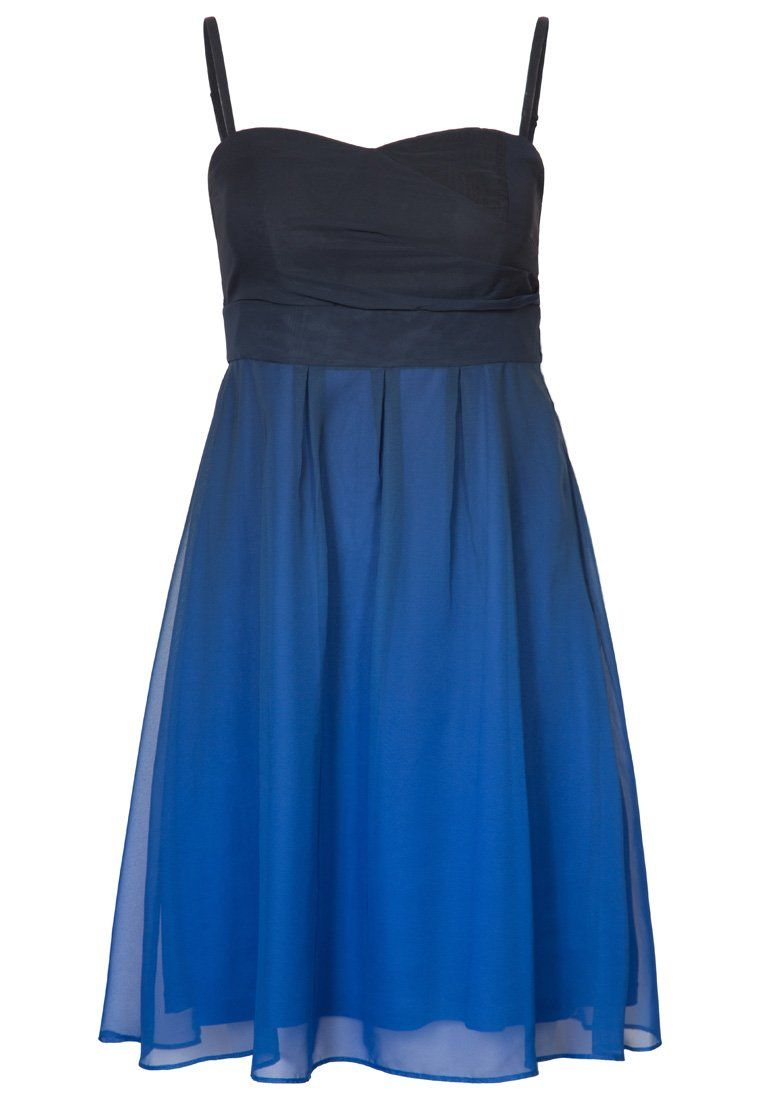 ESPRIT Collection Cocktailkleid festliches Kleid blau