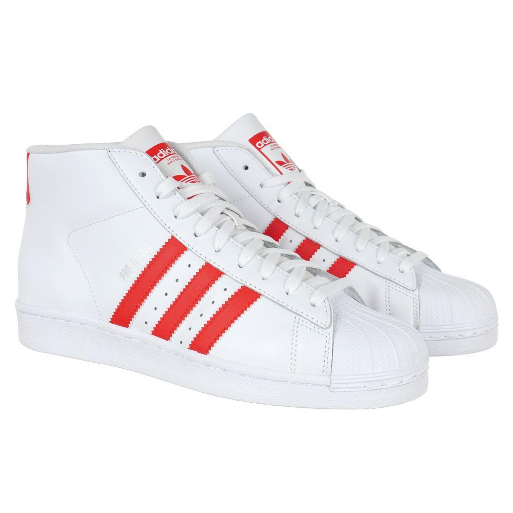 00596134d6bf5 Buty Adidas Originals Pro Model męskie sportowe trampki za kostkę -  eSportowySklep.pl