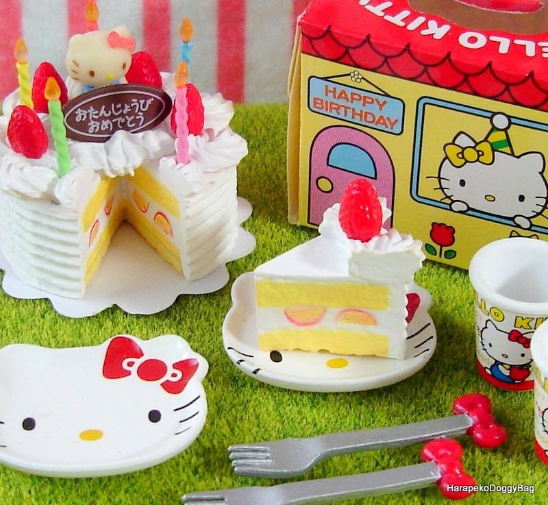 Rement Rement Sanrio Japanese Dollhouse Toys Hello Kitty