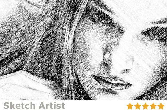 Check out sketch artist photo2 sketch action by design arsenal on creative market
