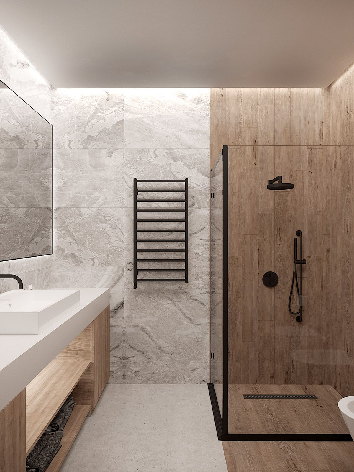 3 Small Home Interiors With Their Own Sense Of Style Bathroom