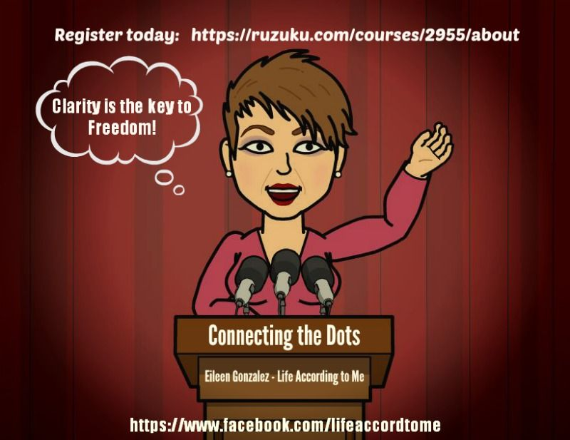 Register at: https://ruzuku.com/courses/2955/about  For details: http://www.lifeaccordingtome.biz/Online-Courses.html