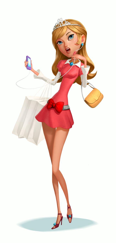 Female Cartoon Characters 80s : Pin up girls art photos child illustrator