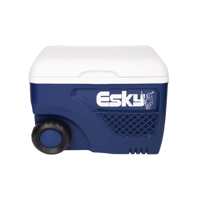 esky 45l ice king cooler with wheels bunnings warehouse