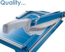 Dahle Paper Cutters...Quality, Precision, Safety