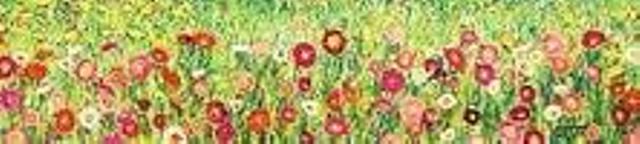 Gustav Klimt Flowers Under The Apple Tree Apple Tree Flowers Tree