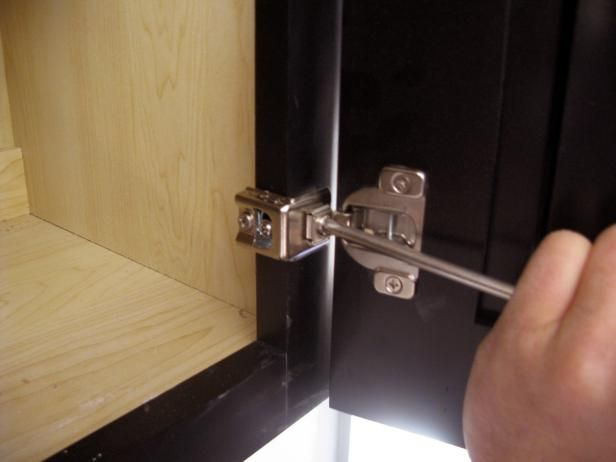 How To Install And Level Cabinet Doors Diy Cabinet Doors Cabinet Door Hardware Hanging Kitchen Cabinets