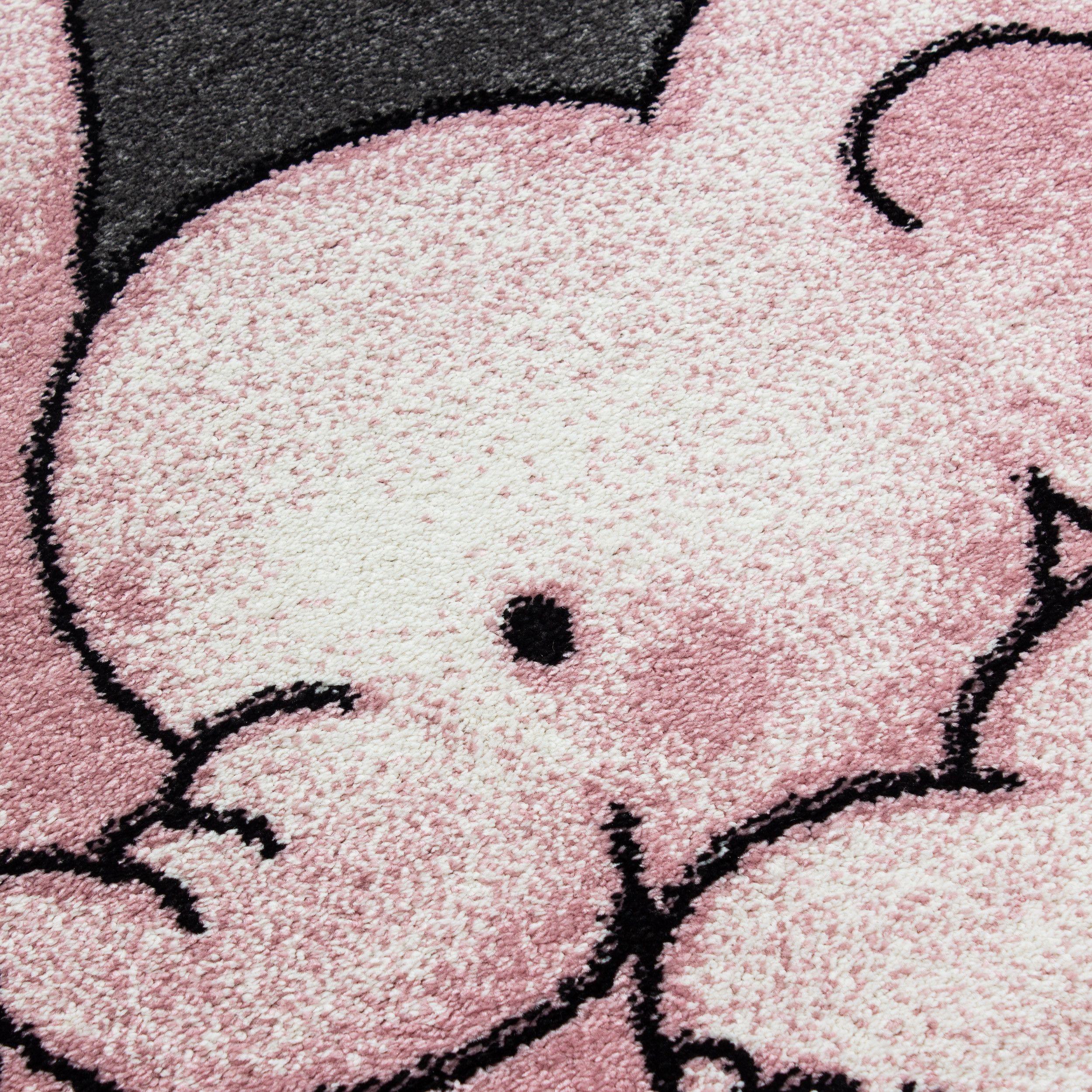 Photo of Ayyildiz koberce Kusový koberec Kids 560 pink kruh – 120×120 (průměr) kruh cm