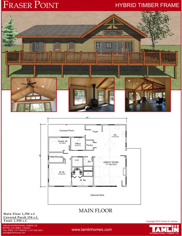 Plans Below 2500 Sq Ft Tamlin Homes Timber Frame Home Packages Timber Frame Homes House Plans House Styles