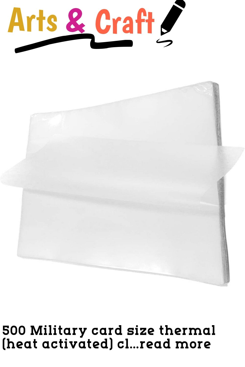 500 Military Card Size Thermal Heat Activated Clear Gloss Laminating Pouches 2 5 8 X 3 7 8 67mm X 98mm With 10 Mils 250 Micro
