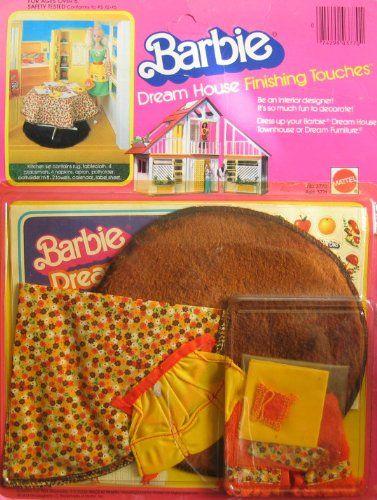 1981 BARBIE DREAM HOUSE Finishing Touches KITCHEN SET (1981 Mattel Hawthorne)