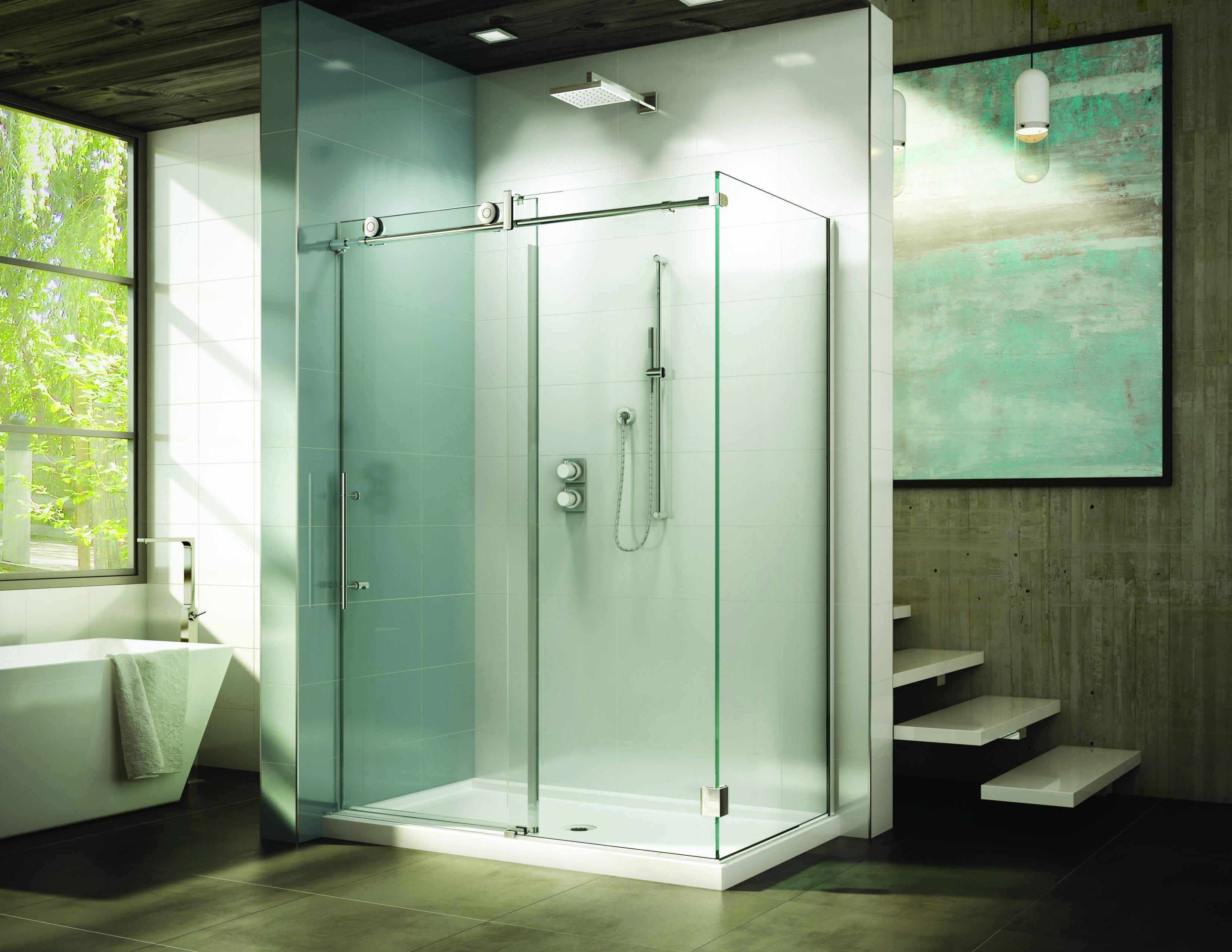 Kinetik Kn By Fleurco Kinetik Shower Doors By Fleurco Pinterest