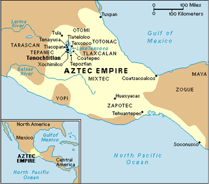 Aztec Empire World Map.Maps 1200 Bc To 3rd C Ad The Olmecs Subsequent Civilizations