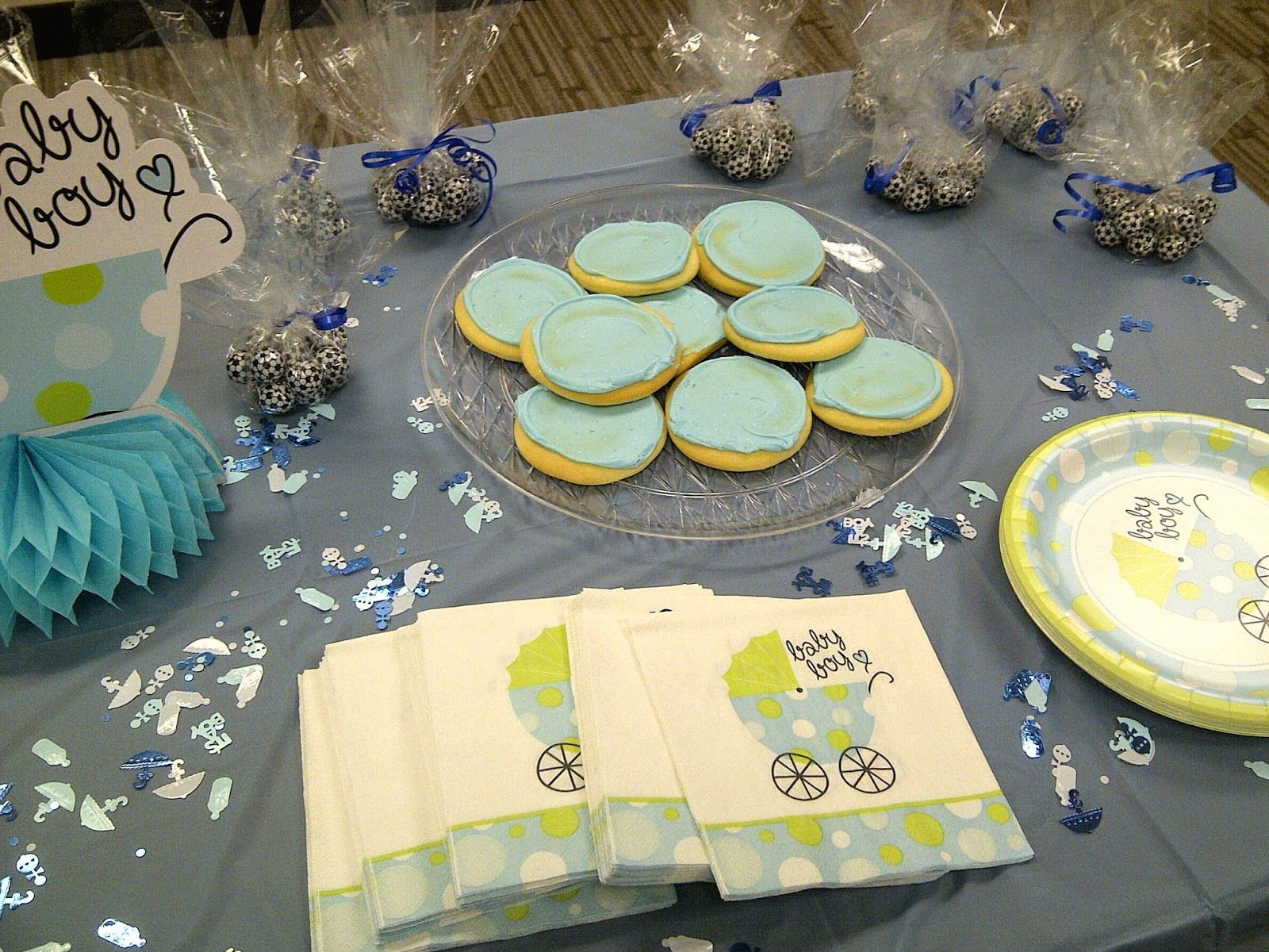 For The Love Of Character: Work Baby Shower   Dollar Tree Decorations And  Delicious Treats