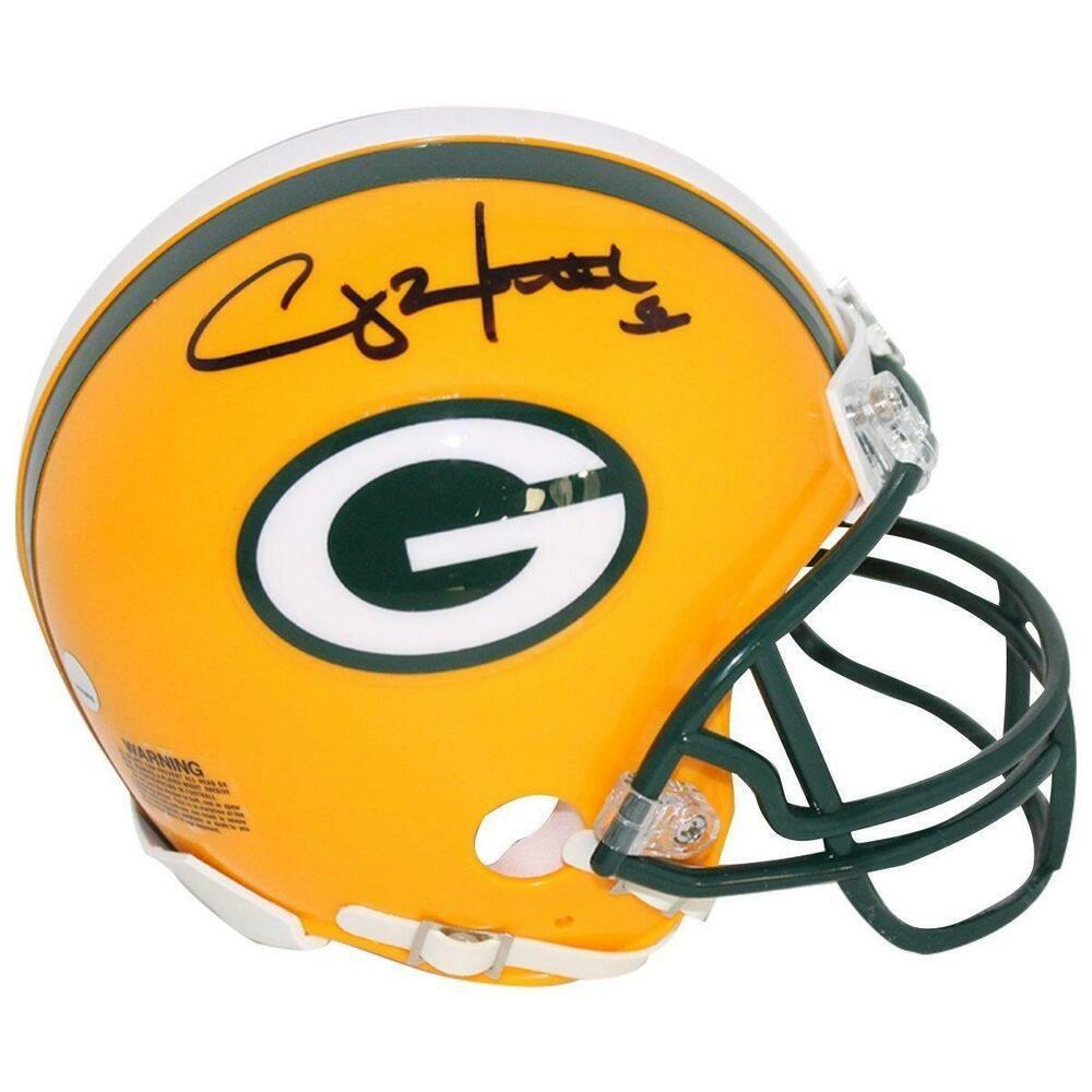 Clay Matthews Green Bay Packers Signed Mini Helmet Steiner Sports Certified Footballhelmet Sportsmemorabi Green Bay Packers Green Bay Green Bay Packers Signs