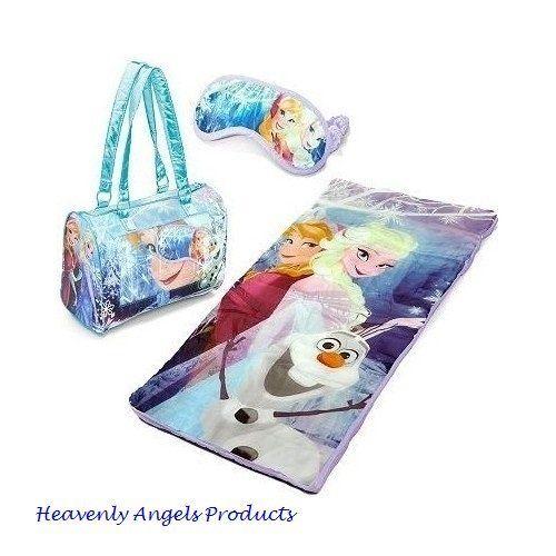 timeless design 271ad 754c5 Disney Frozen Girls Sleeping Bag-Princess Anna and Elsa ...