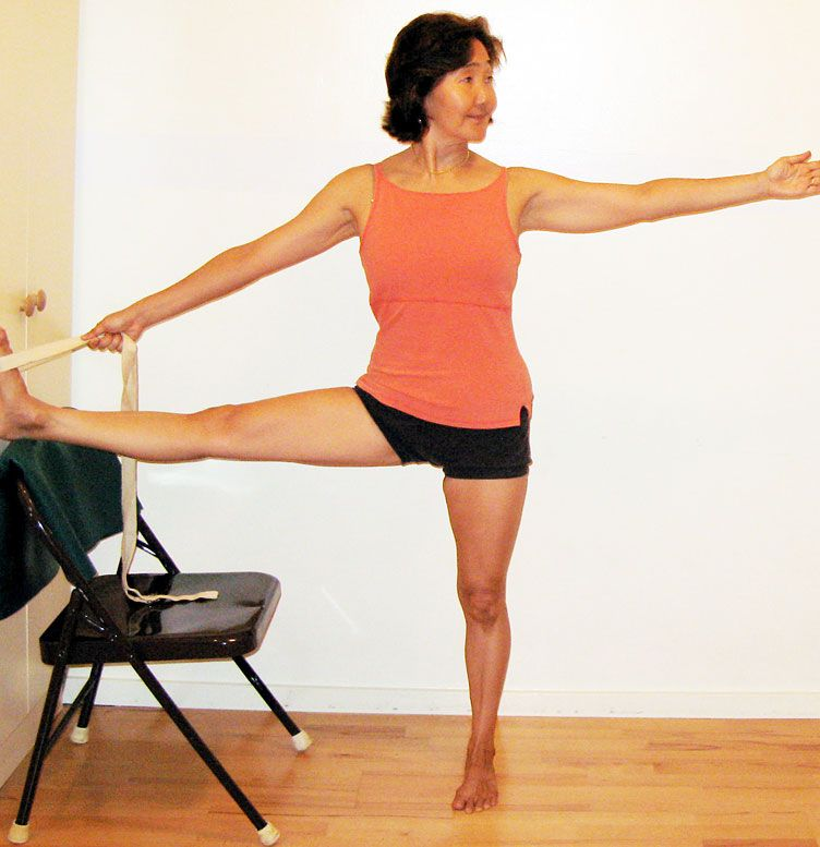 Utthita Hasta Padangustasana II | Yoga & Chair | Pinterest ...