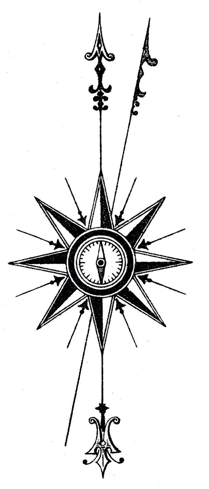 North arrow ink pinterest arrow and tattoo north arrow biocorpaavc