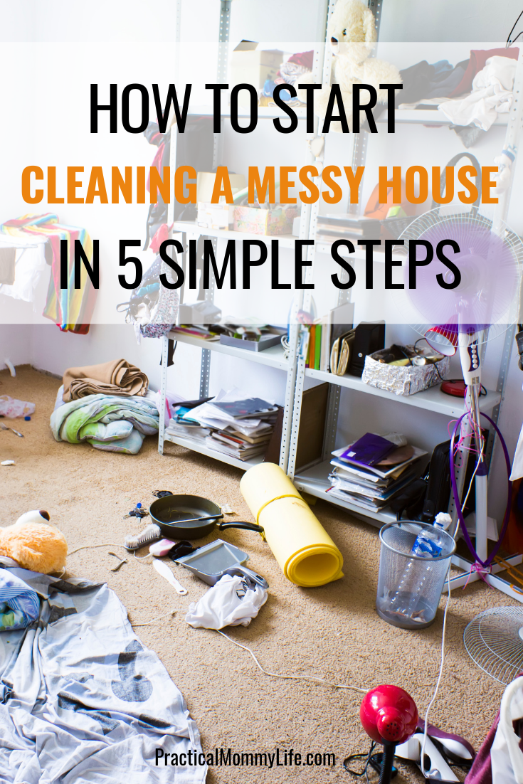 Cleaning And Organizing Tired Of Living In A Dirty House Want Some Simple Tips To Help You Declutter Your Home Find Out How Start Messy
