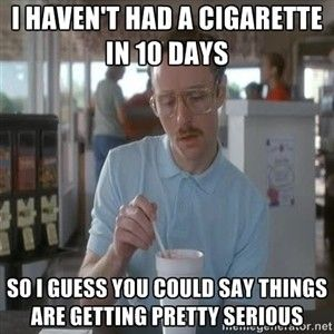 "Image result for ""quit smoking"" meme"
