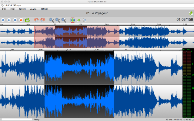 Simple Audio Editor get from Chrome Web Store
