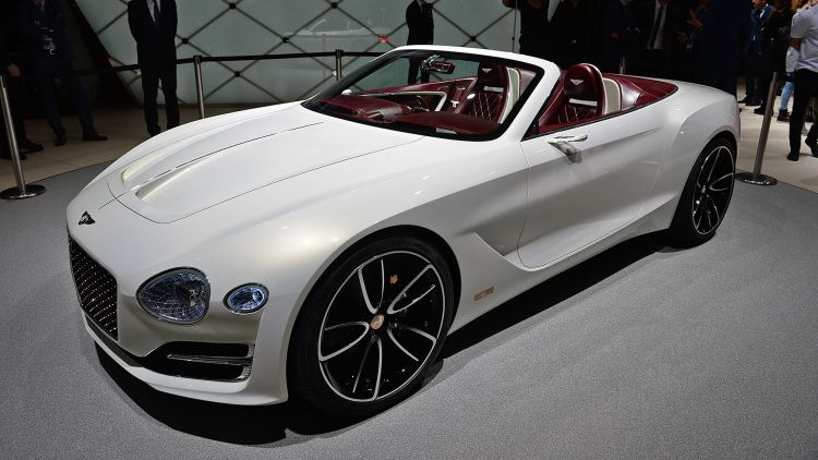 The Bentley Exp 12 Speed 6e Concept Is The Gentleman S Open Air