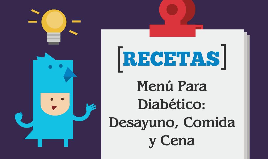 comidas de muestra de diabetes