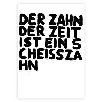 GUDBERG Der Zahn der Zeit Poster