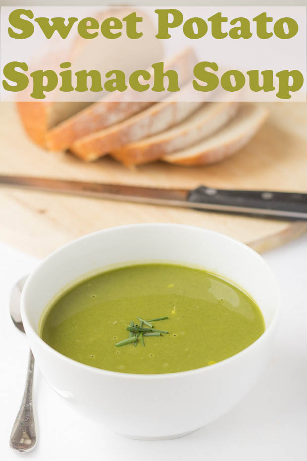 Sweet Potato And Spinach Soup