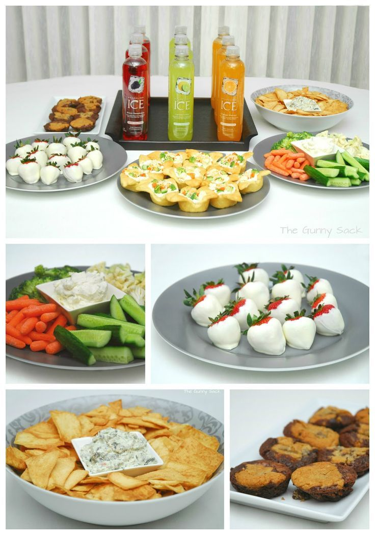 Girls Spa Party Ideas Food
