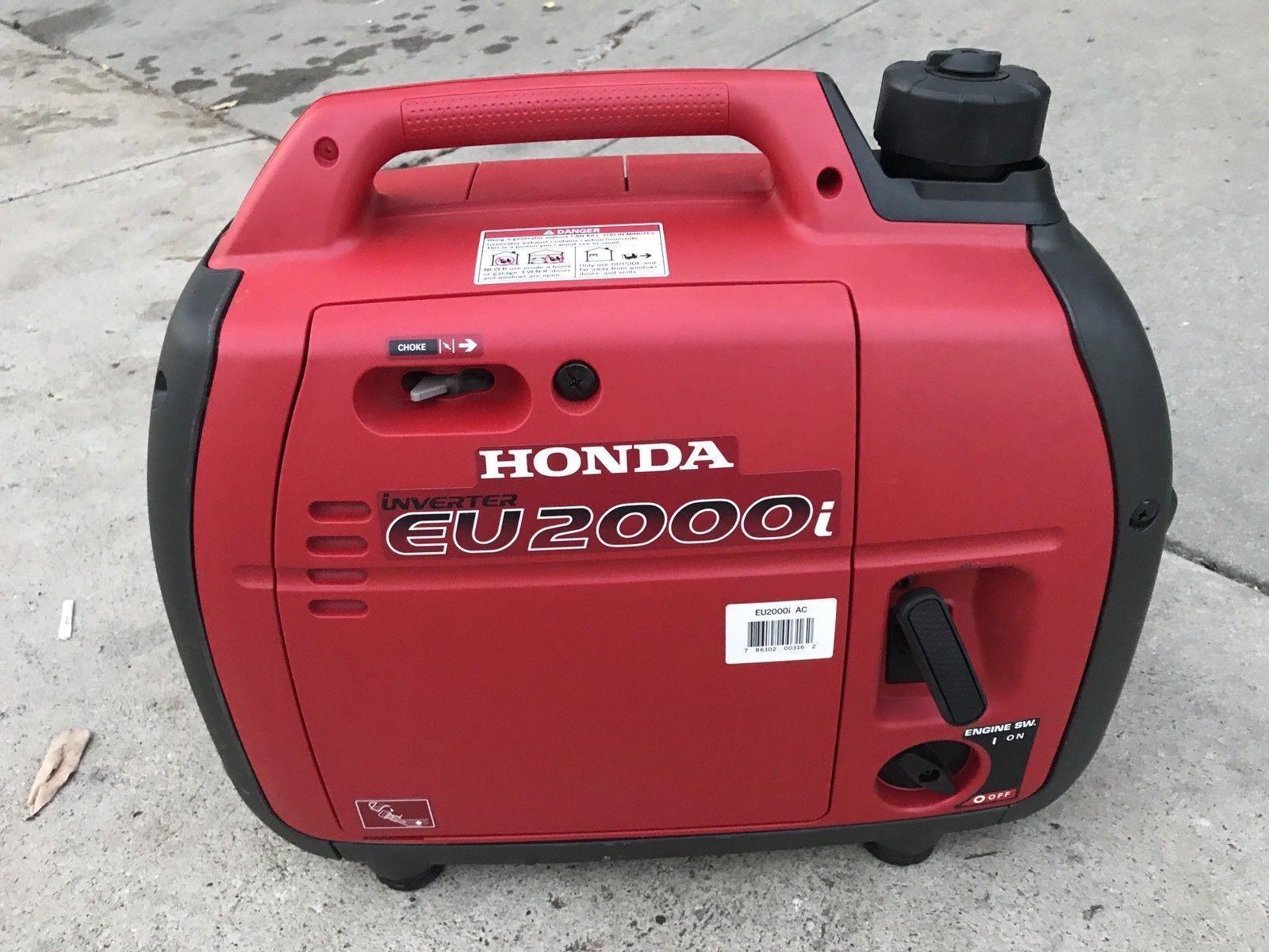 Honda EU 2000i Super Quiet 2000 Watt Portable Generator with