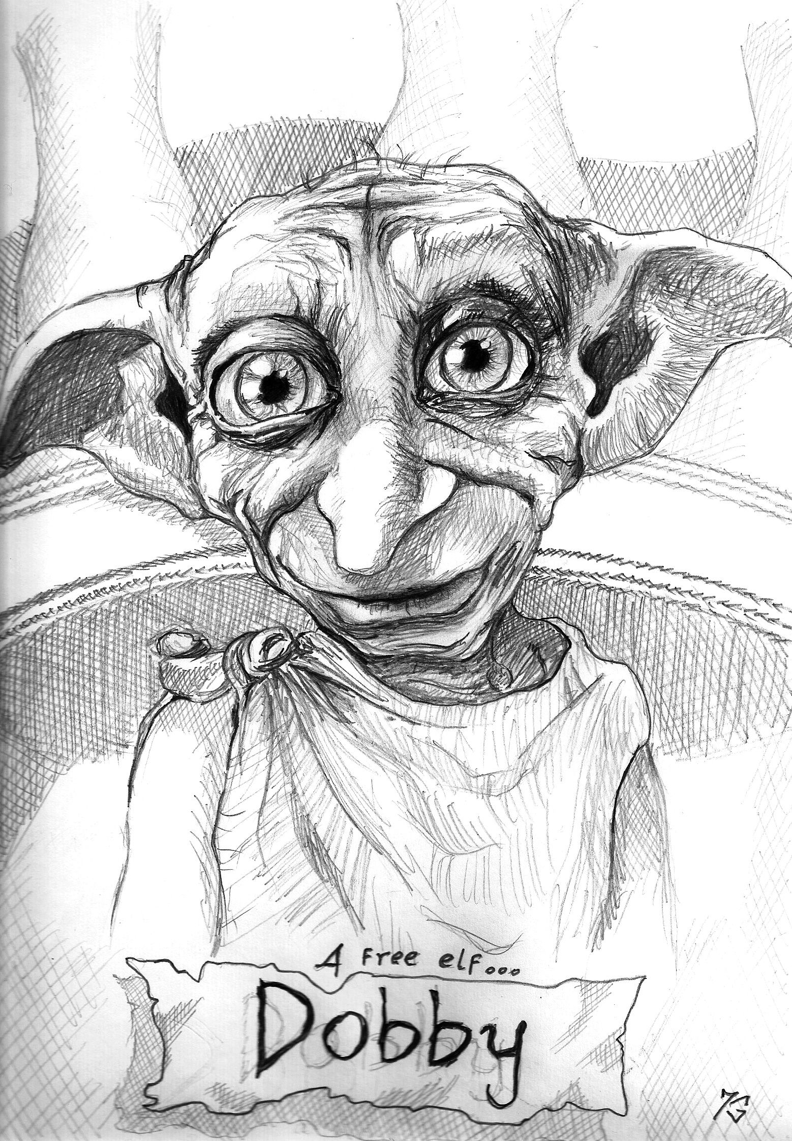 Pin by kenzie roberts on im a nerd p harry potter drawings harry potter art dobby harry potter - Harry potter dessin ...