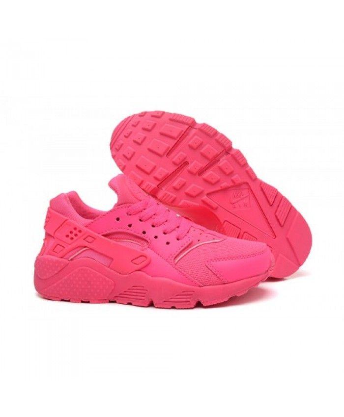 Nike Air Huarache Triple Pink Womens Nike253 Nike Air Huarache Women Nike Air Huarache Nike Air Huarache Ultra