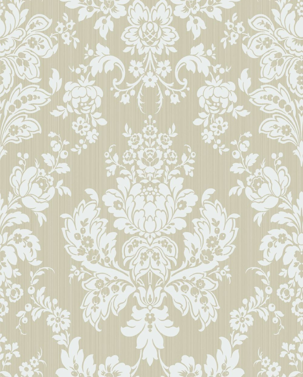 Giselle by Cole & Son Old Olive Wallpaper Wallpaper