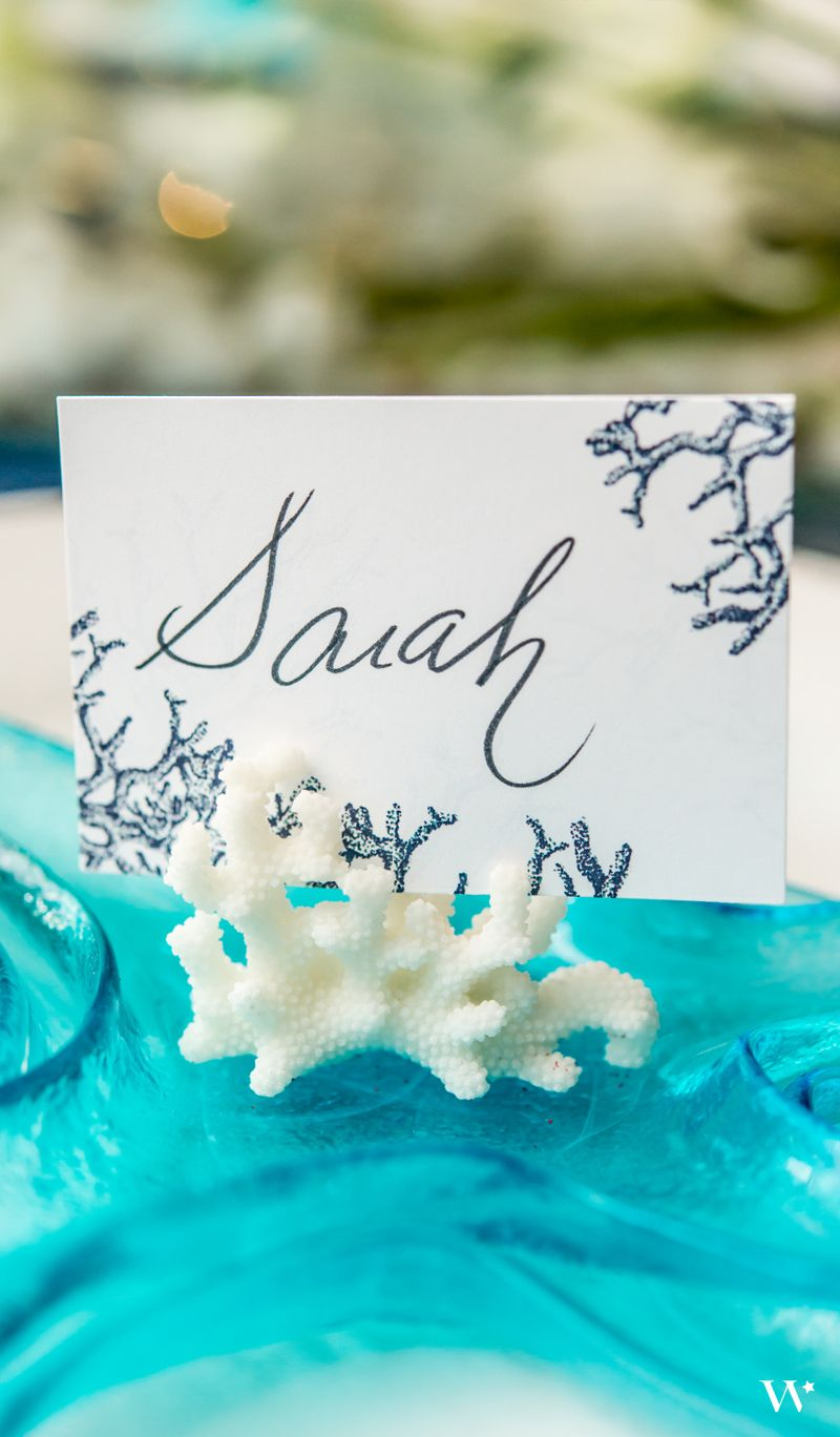 Under the Sea Wedding Stationery: Reef Coral Collection. Be Inspired ...