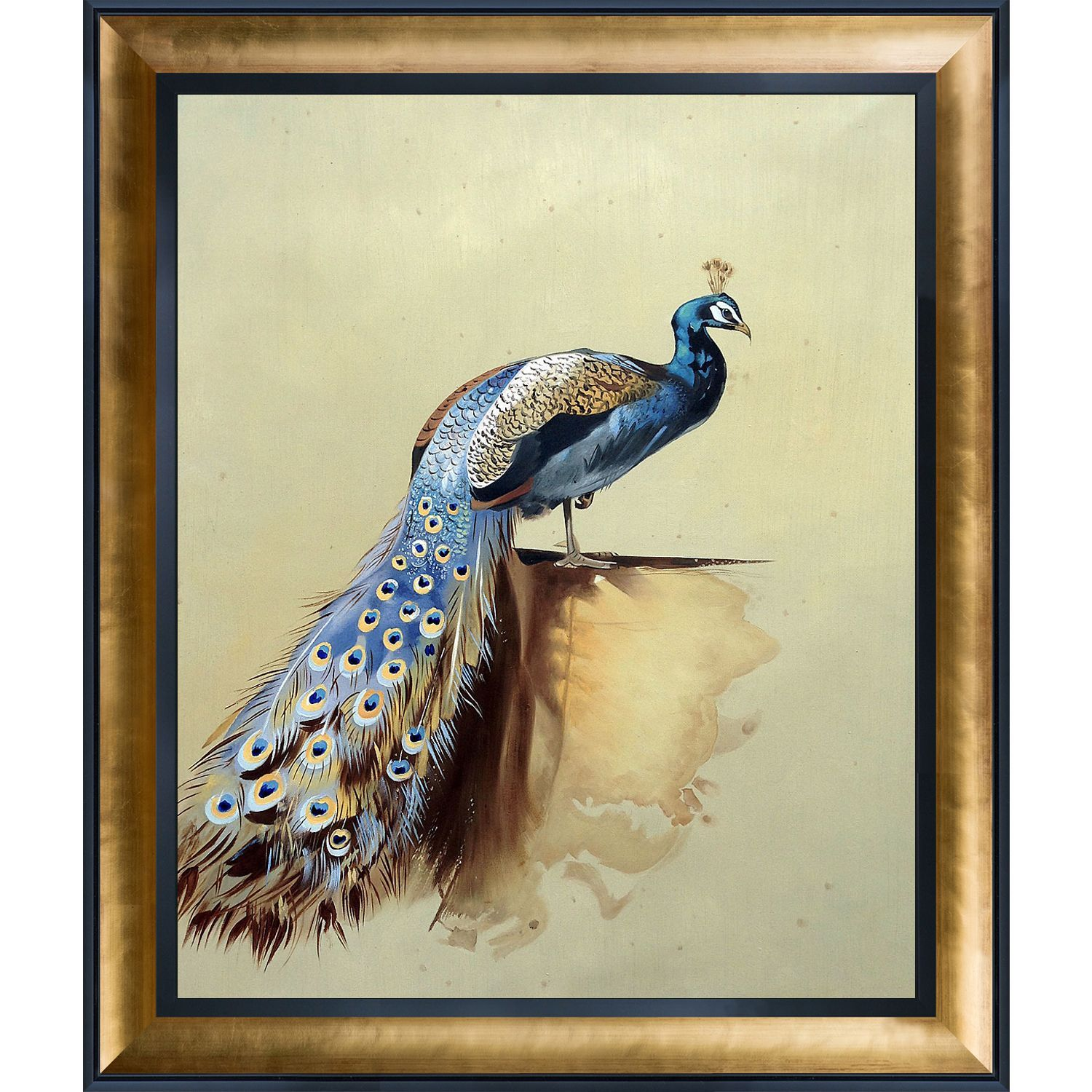 Great Peacock Wall Decor Contemporary - The Wall Art Decorations ...