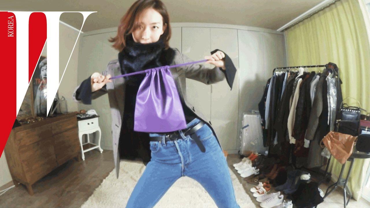 [W Korea] #W돌려입옷 - 베이직 데님 Denim Styling Fashion
