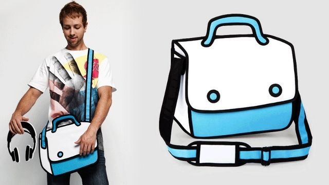 71fc4c4540 This Bag Will Make You Feel Like You Live In a Cartoon