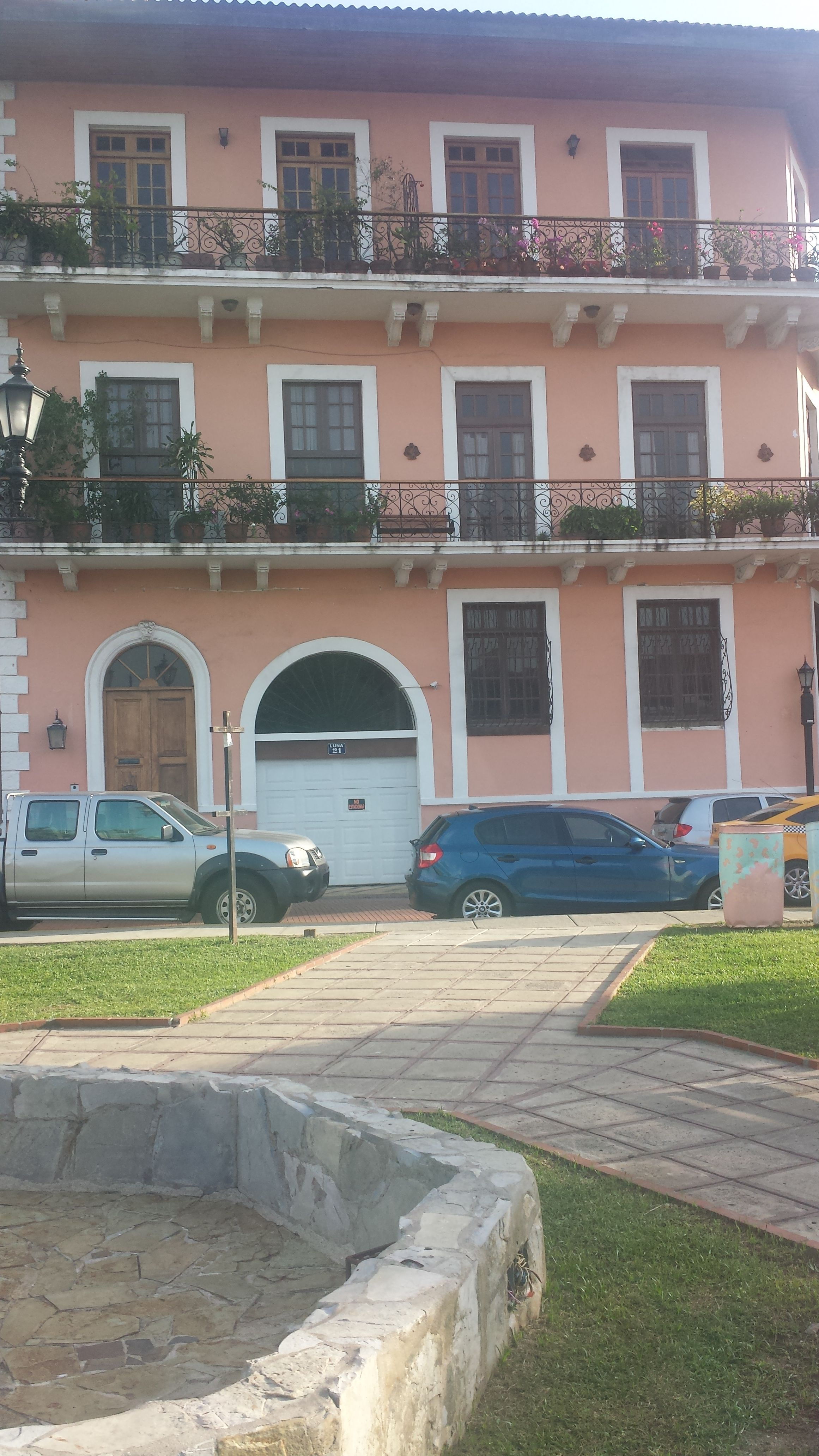 Casco Antiguo en Ciudad de Panamá, Panamá - Casa de Rubén Blades