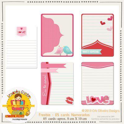 Freebie - Cards Namorados - armazém criativo