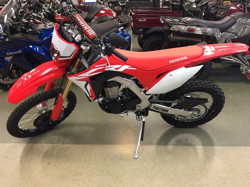 The 2019 Honda Crf450l Street Legal Has Arrived Stop By And Check