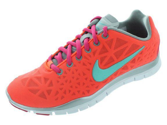 41fe1f9e743d Amazon.com  Nike Women s Free TR Fit 3 color Total Crimson Metallic  Silver Pink Force Sport Turquoise 555158-800  Shoes