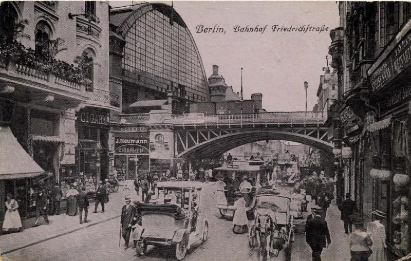 Berlin um 1916