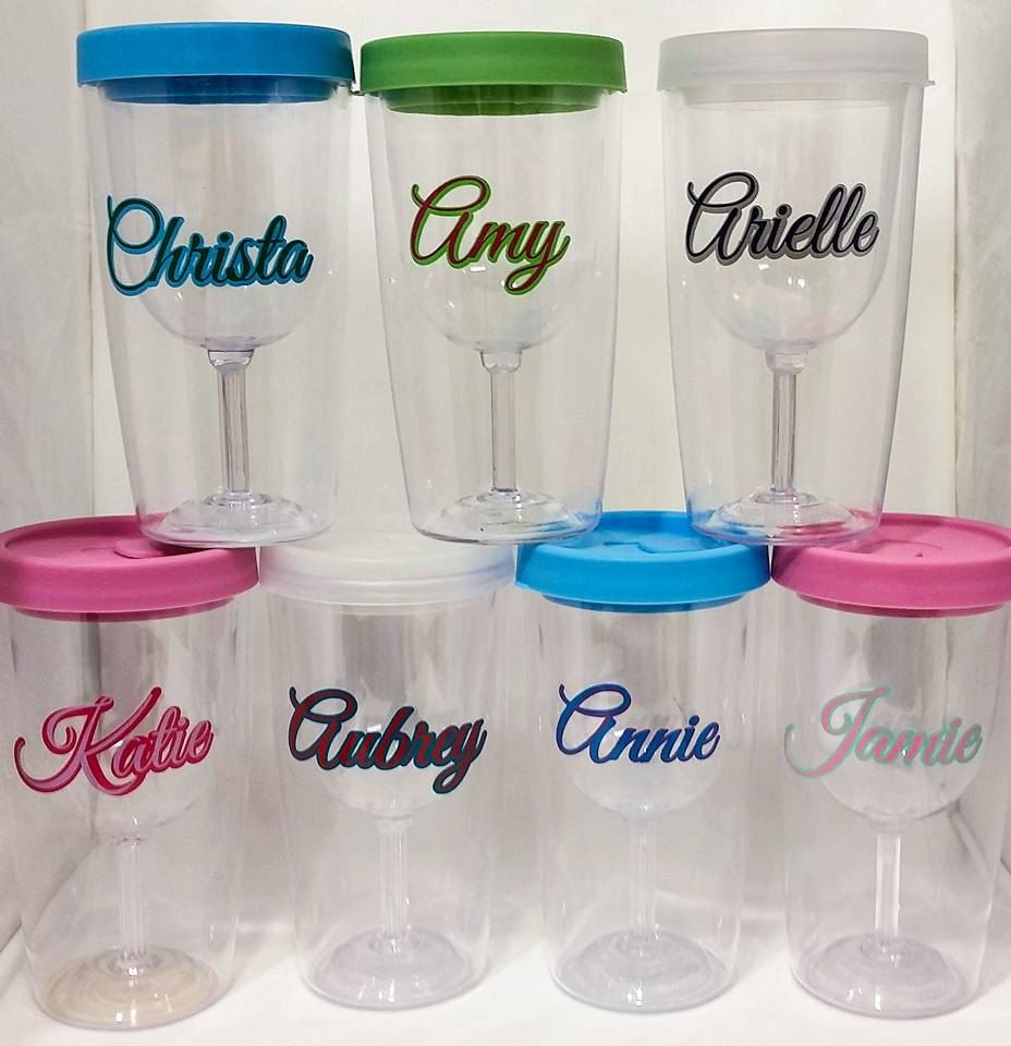 personalized stickers for plastic cups arts arts